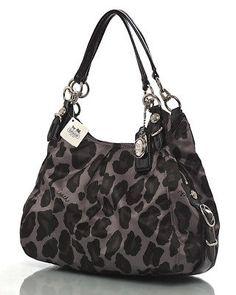 leopard ocelot coach purse | NWT COACH 15772 MAGGIE OCELOT LEOPARD PRINT HANDBAG