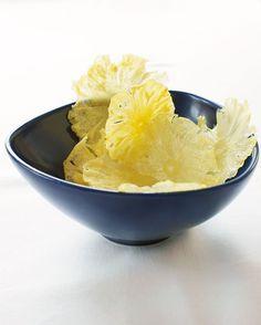Opskrift på lækre sprøde ananaschips