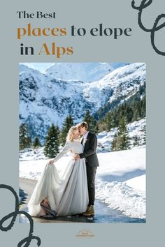 Everything you need to know to plan an adventure wedding in the mountains of the Austrian Alps Lgbt Couples, Ski Touring, Alpine Lake, Elopement Inspiration, Intimate Weddings, Alps, Austria, Getting Married, The Good Place