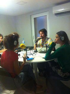 Michelle Barrios en @scannerfm #skatelovebarcelona #farandularte / Amor de radio!