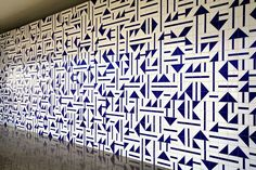 """38 contemporary Brazilian artists participate in the group exhibition """"Soft Power. Oscar Niemeyer, Tile Patterns, Textures Patterns, Imagination Quotes, Soft Power, Tadao Ando, Tiles Texture, Geometric Wall, Layout"""