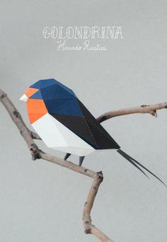 Papaper art do Estúdio de design Guarda Bosques do casal argentino Carolina e Juan