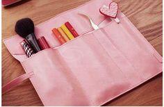 Practical Retro Style PU Leather Pencilcase (PINK) China Wholesale - Sammydress.com
