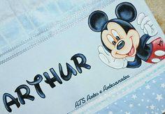 Toalhinha Escolar Mickey