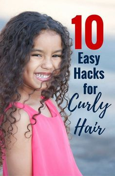 It's tough to find the best hair products for naturally curly hair. Here are some ideas along with easy hacks for curly biracial hair.