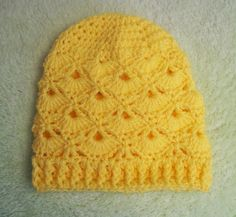 Free Fans Crochet Beanie Pattern #crochet hat pattern by Cats Rockin