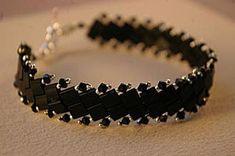 An Elegant Tila Bead Bracelet Beading Pattern Tutorial