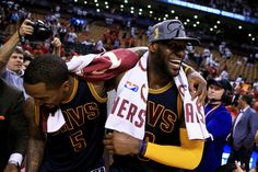 LeBron is headed to his sixth straight Finals. Never has he seemed more ready to deliver a championship to Cleveland.