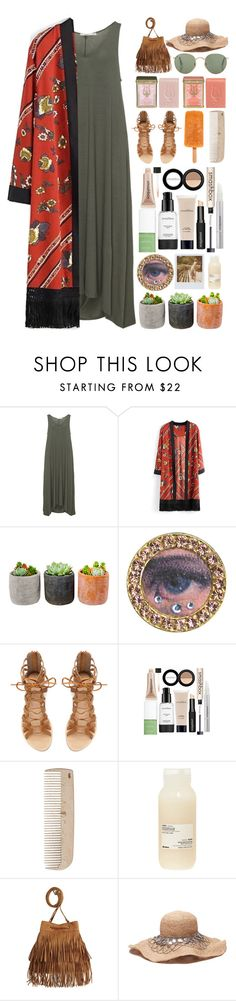 """""""it was a fast lifestyle but no one helped her to steer"""" by iradicate ❤ liked on Polyvore featuring Mat, Shop Succulents, Tarina Tarantino, Band of Outsiders, Zara, Smashbox, HAY, Mor, Davines and H&M"""