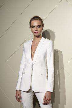 Cara Delevingne at Burberry Art of the Trench Shanghai.