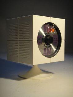 1970 Panasonic Cube Radio