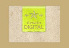 XOOplate :: Stitched Fabric Logo Site Banner PSD - Ribbon style logo site banner made of fabric complete with stitches. PSD