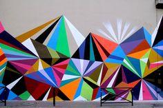 Graffiti art- CRYSTAL AND LASERS- PARIS by Matt W Moore