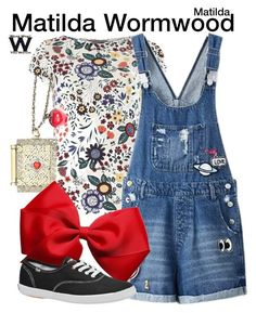 Inspired by Mara Wilson as Matilda Wormwood in Matilda. Roald Dahl Costumes, Book Costumes, World Book Day Costumes, Book Week Costume, Matilda Costume, 90s Costume, Matilda Wormwood, Cute Fashion, Fashion Outfits