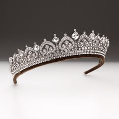 Andrew Prince Tiara, what every girl needs. Maker of tiaras for #DowntonAbbey and Maggie Smith