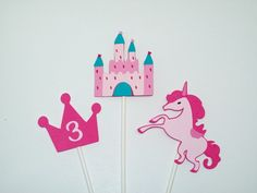 A personal favorite from my Etsy shop https://www.etsy.com/listing/220917944/12-princess-cupcake-toppers-party