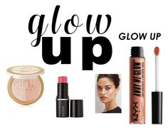 """GLOW UP"" by fao2 on Polyvore featuring beauty, NYX, Too Faced Cosmetics and Laura Mercier"