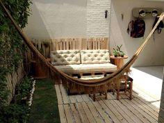 Cafofo Remobília | O lindo quintal do Alisson Baima |