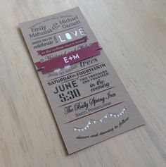 Hey, I found this really awesome Etsy listing at https://www.etsy.com/listing/187548929/modern-unique-wedding-invitation-hipster