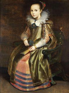 Cornelis de Vos, Elisabeth or Cornelia Vekemans (ca. 1625)