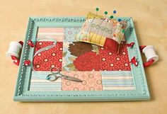 cute sewing tray...