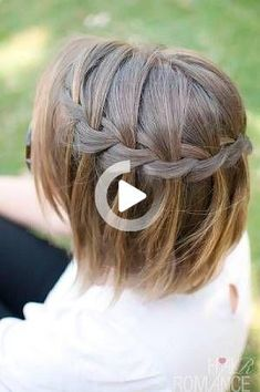 Simple and Cute Short Hair Styles for Travel #easyhairstyles Short Hair For Kids, Short Hair Styles Easy, Braids For Short Hair, Medium Hair Styles, Cute Hairstyles For Medium Hair, Cute Hairstyles For Short Hair, Quick Hairstyles, Pretty Hairstyles, Nurse Hairstyles