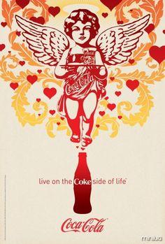 coca cola propaganda - Pesquisa Google