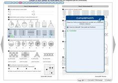 Librairie-Interactive - Fichier Sésamaths CM Fractions, Math College, Cycle 3, Engineering, Classroom, Teacher, Journal, Maths, School