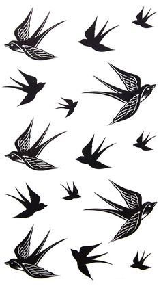 GGSELL 2012 new design New release temporary tattoo waterproof Swallow tattoo stickers:Amazon:Beauty
