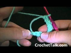 How to Crochet - Lesson 6 (Magic Circle Crochet). for more tutorials and patterns. Learn to Crochet For Beginning crocheters: D with . will teach you how to do the Magic Circle Crochet stitch. Magic Circle Crochet, Magic Ring Crochet, Crochet Geek, Crochet Circles, Crochet Cross, Crochet Round, Learn To Crochet, Knit Crochet, Crochet Basics