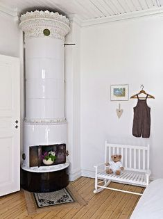 amazing swedish fireplace, another version of my dream heating device