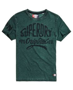 Superdry Camiseta teñida Work Wear