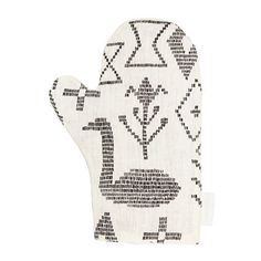 Maailman synty oven mitten Fabric: European hemp fabric Filling: recycled textile fiber mat Transparently manufactured in Finland. Hemp Fabric, Winter White, White Christmas, Home Goods, Textiles, Pillows, Oven, Linens, Image