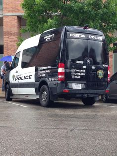 Houston Police Dept. Homeless Outreach Team Mercedes-Benz Sprinter