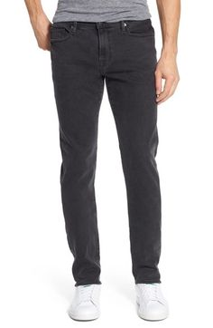 FRAME 'L'Homme' Skinny Fit Jeans (Fade To Grey). #frame #cloth #