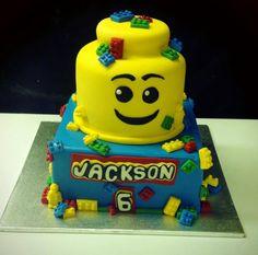 Lego Cake! So awesome!