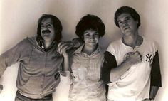 John DeBellis with Gilbert Gottfried and Joe Piscopo.