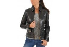 dharavi market Women's leather/non leather jacket n184  The jackets are custom made according to your size.