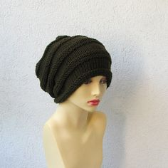 Dreadlock Hat  Green Dread Tam   Dread Hat  Warm by AlbadoFashion, $30.00