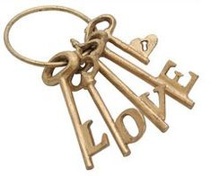 The key to love...a relationship with Christ.