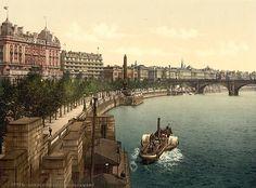 Victoria Embankment, London, c1895.