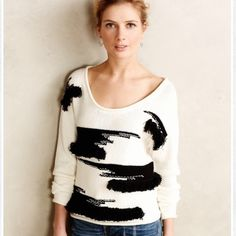 Anthropologie Sweaters - Anthropologie Fringe Pullover. Plenty by TR