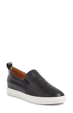Free shipping and returns on Caslon® Eden Perforated Slip-On Sneaker (Women) at Nordstrom.com. Tiny perforations add breathability and distinctive texture to an out-of-the-ordinary sneaker set on a bright white cupsole.