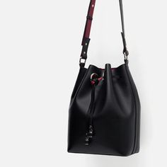 BUCKET BAG WITH DETAILS-View all-Bags-WOMAN   ZARA United States
