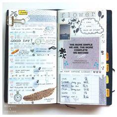 • week 26 in my Midori • #midori #mtn #notebook #travelersnotebook #travelersnote #midoritravelersnotebook #decoratedpages #weeklypages #macsweeklypages