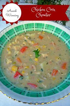 Chicken corn chowder recipe evaporated milk