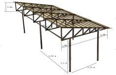 Steel Structure Buildings, Roof Structure, Metal Buildings, Shed Design, Garage Design, House Design, House Construction Plan, Steel Frame Construction, Steel Trusses