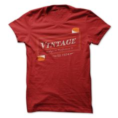 Vintage 1974 T-Shirts, Hoodies. Check Price Now ==► https://www.sunfrog.com/Birth-Years/Vintage-1974-a6ra.html?id=41382