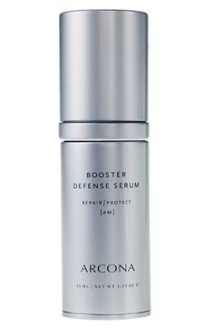 Antioxidants are a necessity in achieving a clear complexion. // Acrona Booster Defense Serum