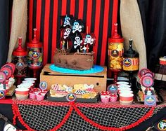 Pirate Party - Complete Package - Printables - Boys Birthday Party- Girl Party- Pirates of the Carribbean- Nonpersonalized- INSTANT Download